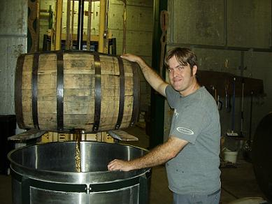 Draining After Aging